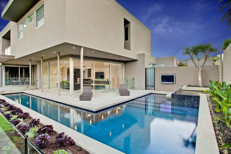Caulfield North Swimming Pool, Garden And Landscape Design And Building    Serenity Pools
